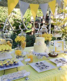 Gray & Yellow Wedding Inspiration 8