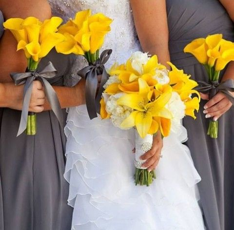 Gray yellow wedding inspiration dipped in lace gray yellow wedding inspiration junglespirit Choice Image