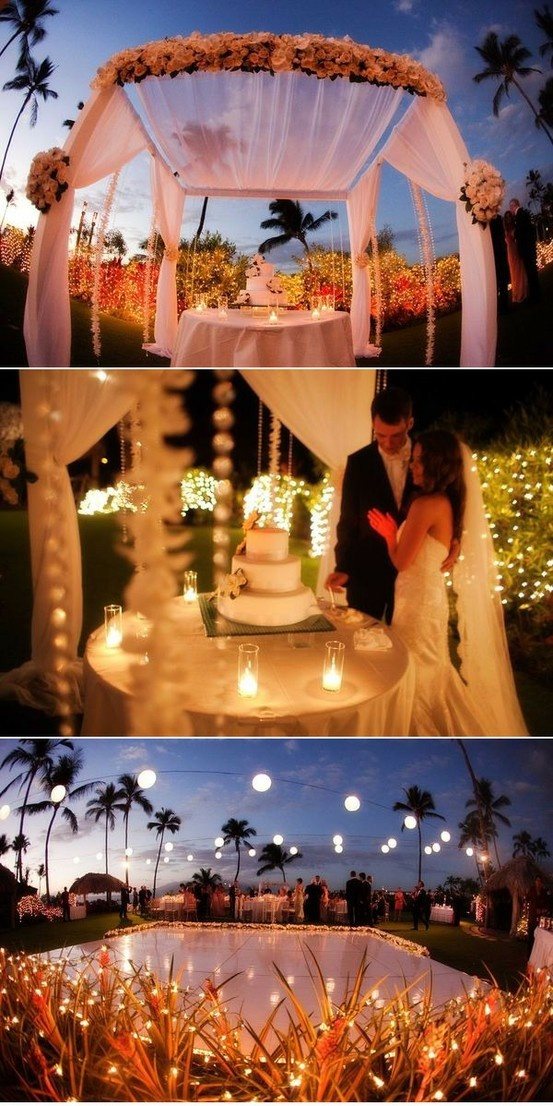 Outdoor Wedding Reception Ideas 11