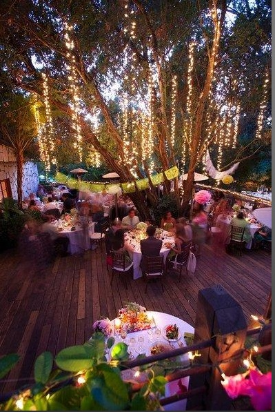 Outdoor Wedding Reception Ideas 12