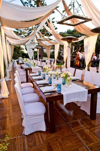 Outdoor Wedding Reception Ideas 14