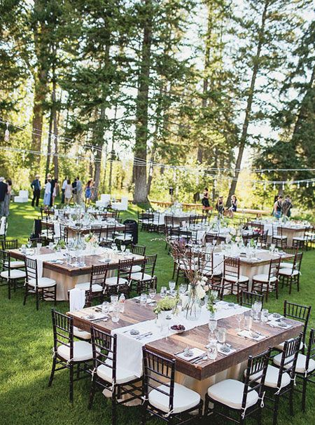 Outdoor Wedding Reception Ideas 16