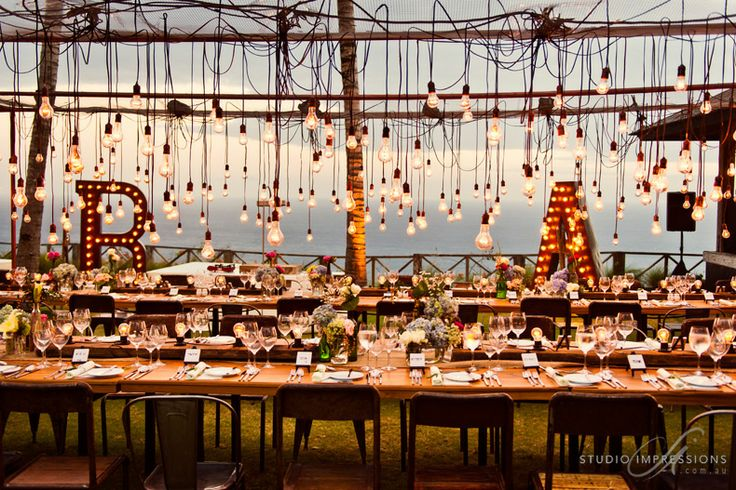 Outdoor Wedding Reception Ideas 2