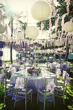 Outdoor Wedding Reception Ideas 3