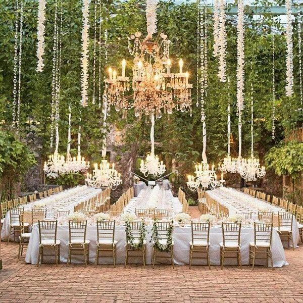 Outdoor Wedding Reception Ideas 4