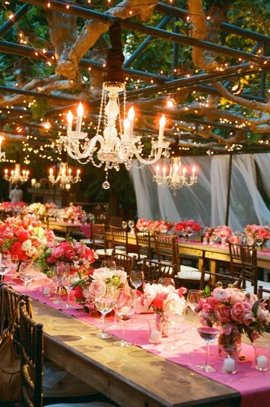 Outdoor Wedding Reception Ideas 5