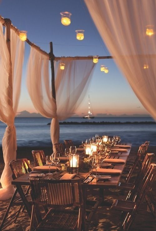 Outdoor Wedding Reception Ideas 7