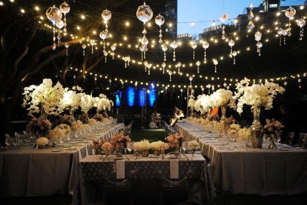 Outdoor Wedding Reception Ideas 8