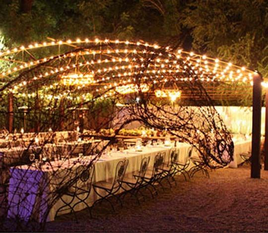 Outdoor Wedding Reception Ideas 9