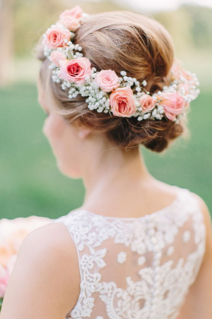 Wedding Hairstyles With Flowers 11
