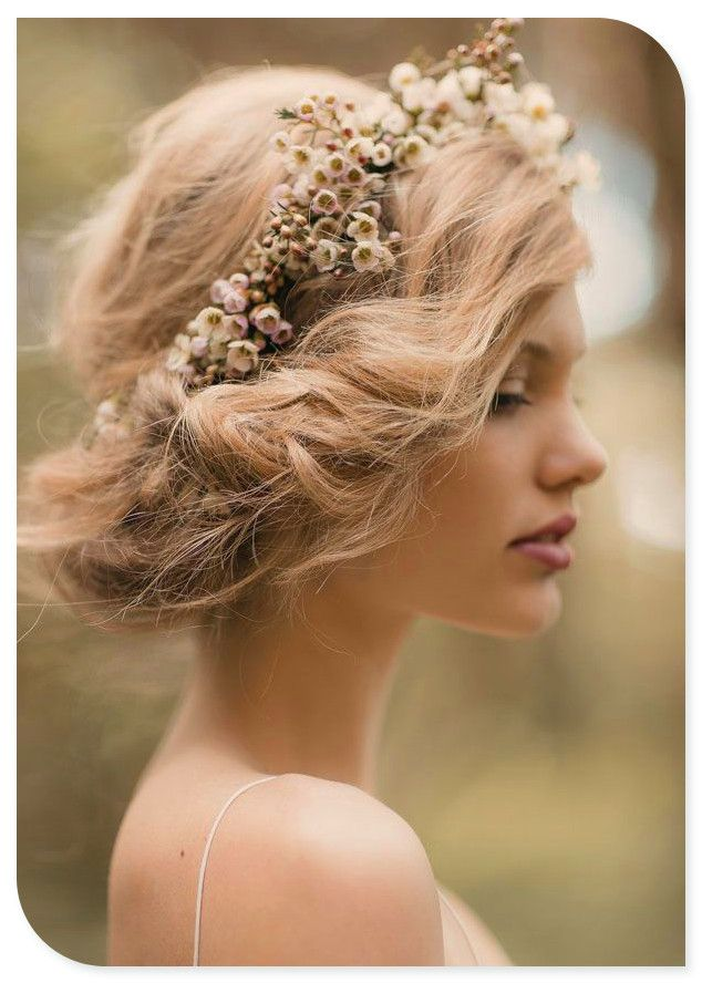 Wedding Hairstyles With Flowers 20