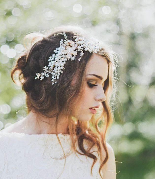 Wedding Hairstyles With Flowers 3