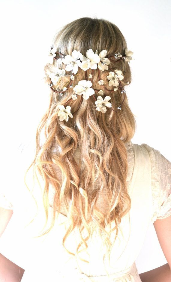 Wedding Hairstyles With Flowers 5