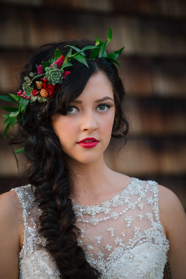 Wedding Hairstyles With Flowers 8