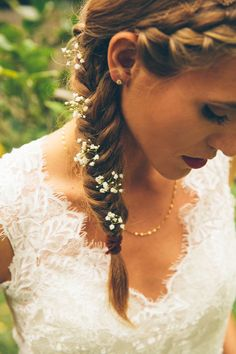 Wedding Hairstyles With Flowers 9
