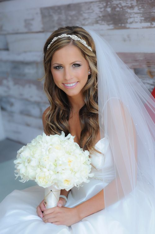 Wedding Hairstyles With Veils  11
