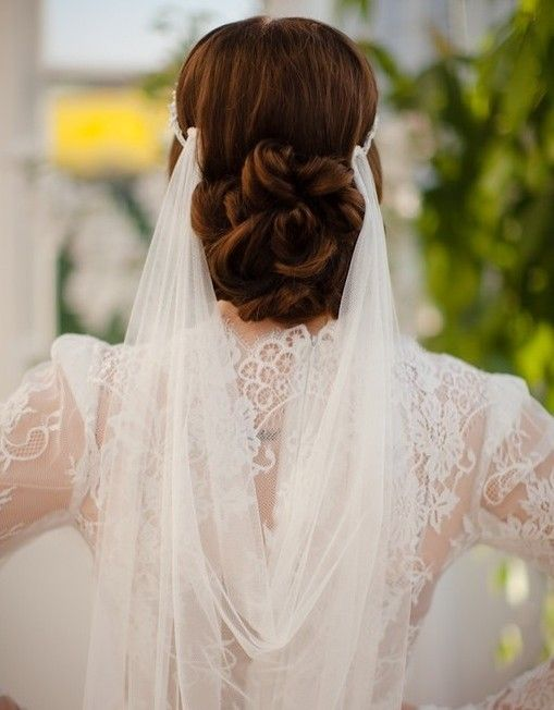 Wedding Hairstyles With Veils 7