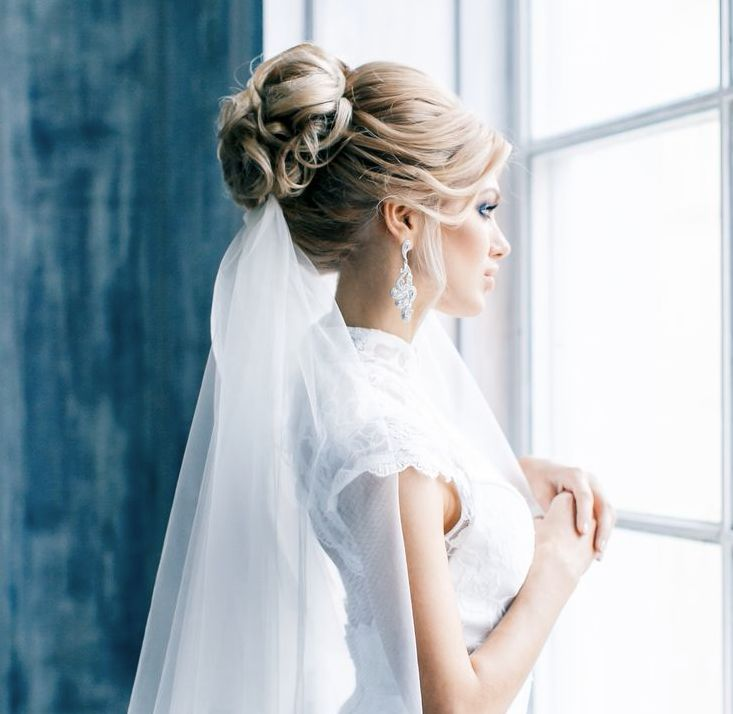 Wedding Hairstyles With Veils  8