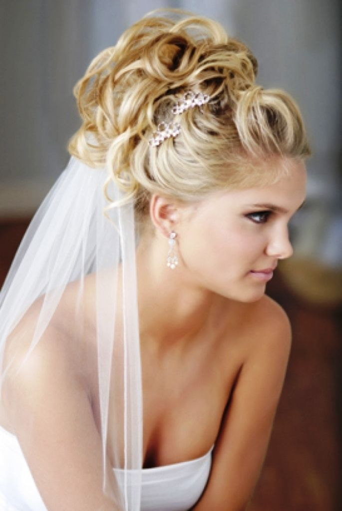 Wedding Hairstyles With Veils  9