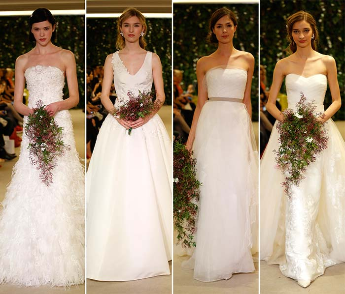 Carolina Herrera Spring 2016 Wedding Dress Collection 4