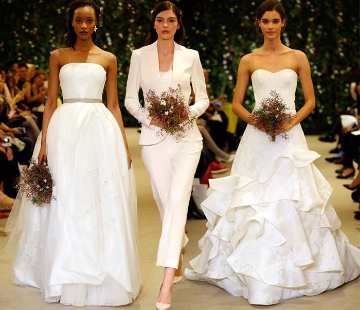 Carolina Herrera Spring 2016 Wedding Dress Collection