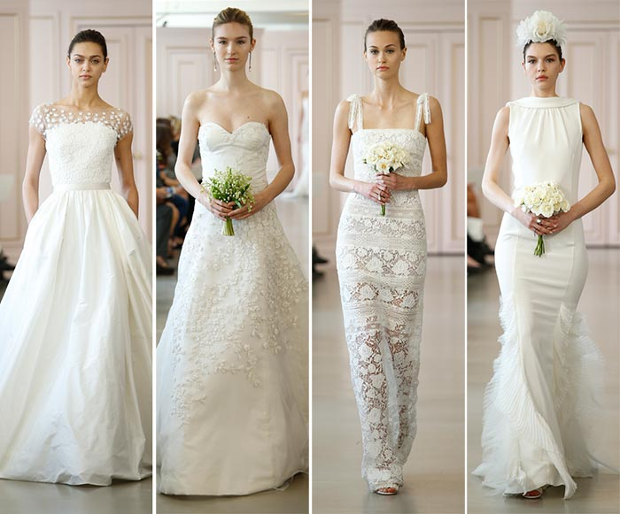 Oscar de la Renta Spring 2016 Wedding Dress Collection 2