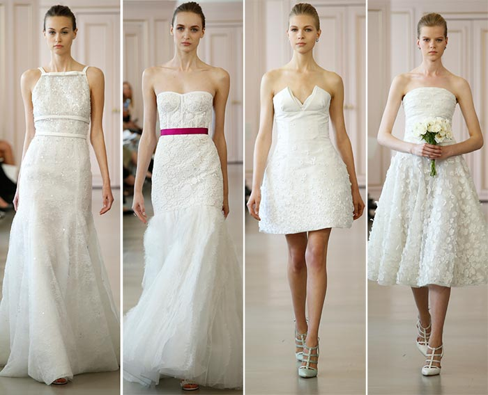 Oscar de la Renta Spring 2016 Wedding Dress Collection 4