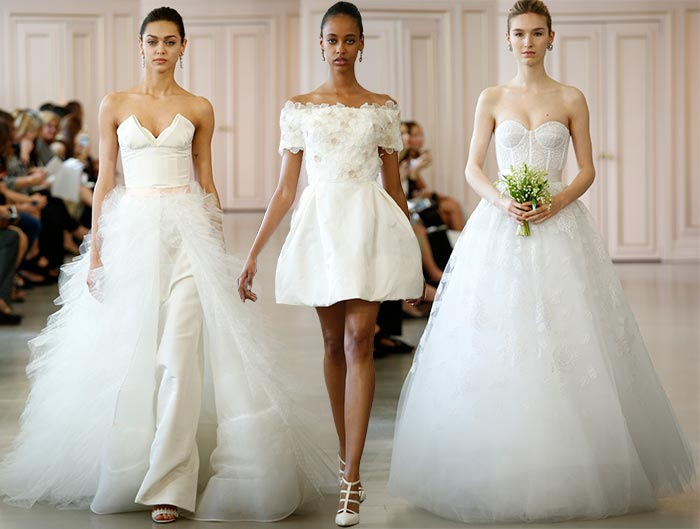 Oscar de la Renta Spring 2016 Wedding Dress Collection