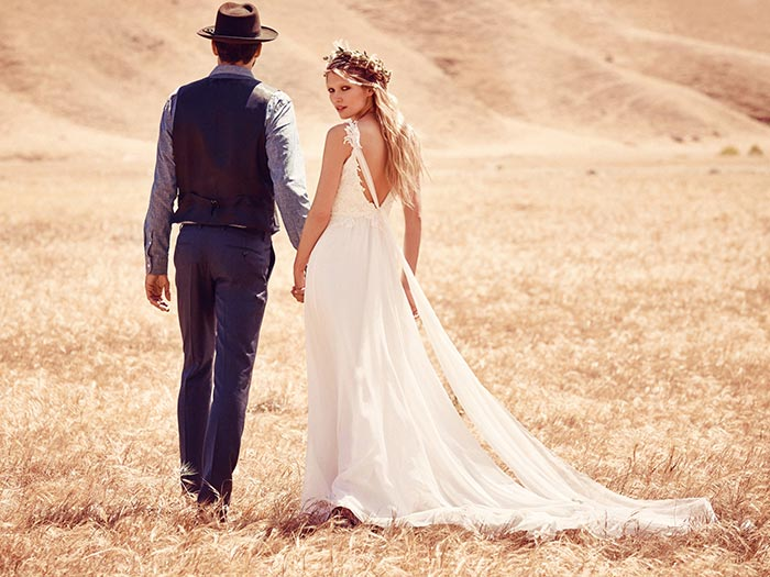 Free People Bohemian Bridal 2015 Collection 2