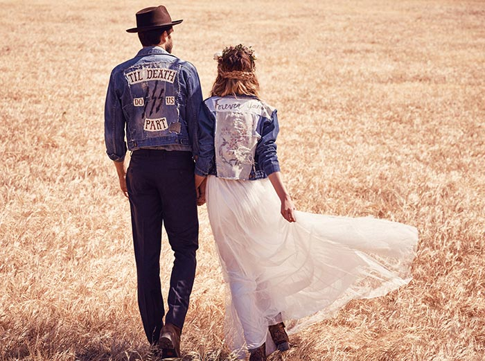 Free People Bohemian Bridal 2015 Collection 4