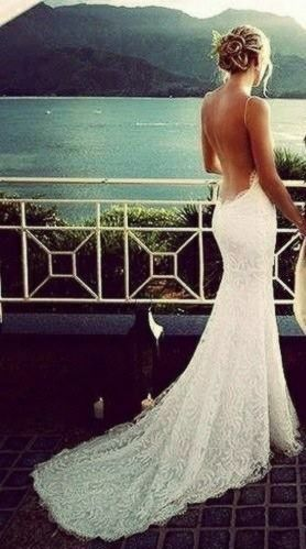 20 Backless Wedding Dresses That Will Make Jaws Drop 17