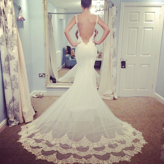 20 Backless Wedding Dresses That Will Make Jaws Drop