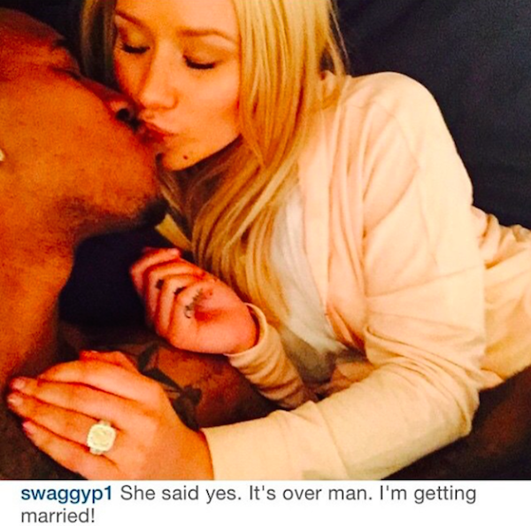 Iggy Azalea Announces Engagement To Longtime Boyfriend Nick Young + See Her Ring 3