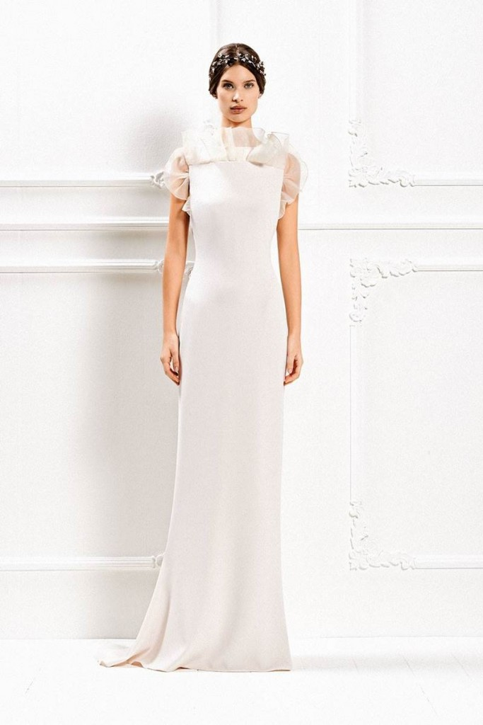 Max Mara's Fall - Winter 2015 Wedding Gown Collection 13