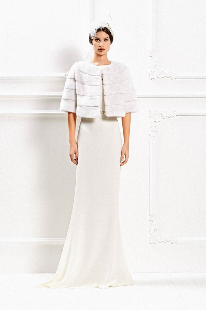 Max Mara's Fall - Winter 2015 Wedding Gown Collection 17