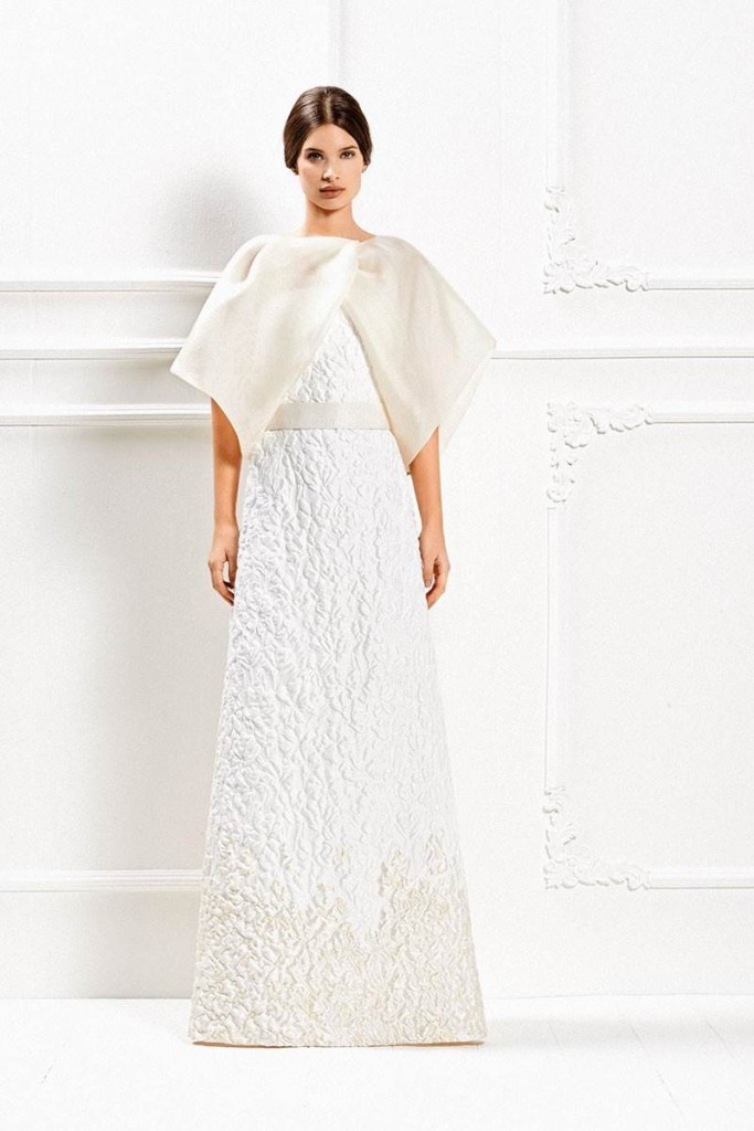 Max Mara's Fall - Winter 2015 Wedding Gown Collection 9