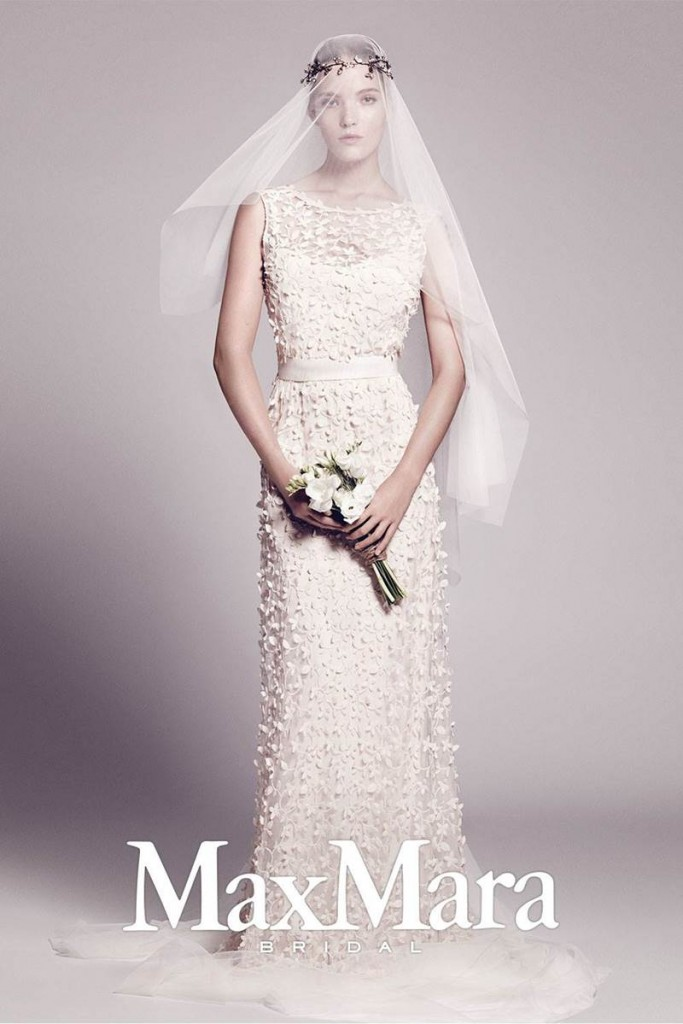 Max Mara Fall Winter Wedding Gown Collection