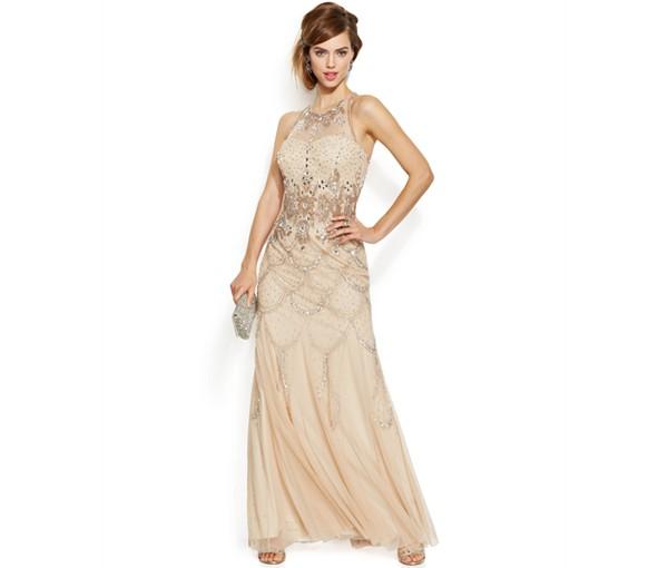 Now Trending - Gold Wedding Dresses 3