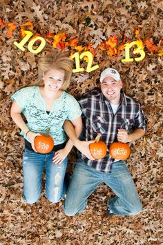 20 Fall Save The Date Ideas For Your Autumn Wedding 20