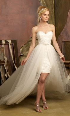 20 Wedding Reception Dresses To Finish Off Your Wedding Night 9