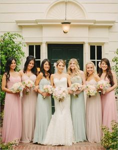 2016 Spring - Summer Bridesmaid Dress Trends 2