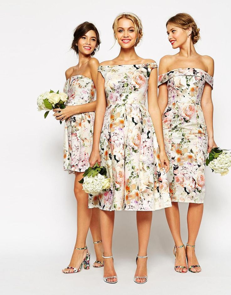 2016 Spring Summer Bridesmaid Dress Trends 5