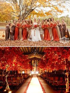 25 Fall Wedding Ideas For Your Autumn Wedding 2