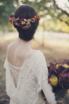 Fall Wedding Hairstyles 11