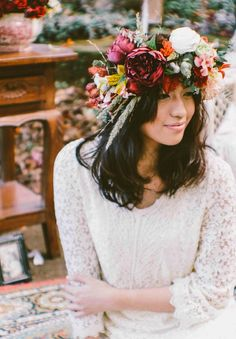 Fall Wedding Hairstyles 7