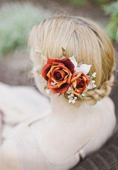 Fall Wedding Hairstyles 9
