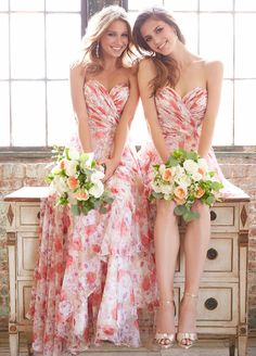 Wedding Trend - Floral Printed Wedding Dresses 10