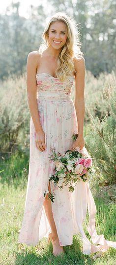 Wedding Trend - Floral Printed Wedding Dresses 6