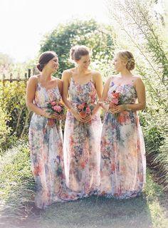 Wedding Trend - Floral Printed Wedding Dresses 7