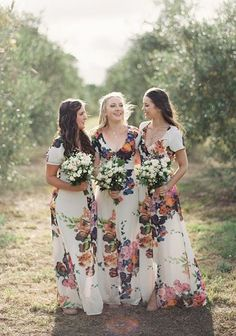 Wedding Trend – Floral Printed Wedding Dresses 8 – Dipped In Lace